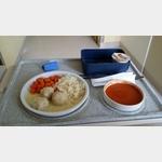 Im Krankenhaus Buchloe das Mittagessen