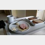 Abendessen im Krankenhaus Buchloe.