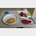 Mittagessen im Krankenhaus