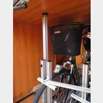 Fahrradhalterung ohne Verschraubungen, nur verspannt - hält bombemfest!