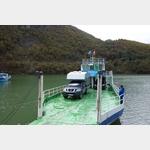 Fähre über den Komani Stausee in Albanien