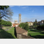 Stadtmauer in Lucca