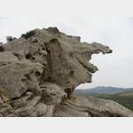 bizzare Felsformation auf dem Weg zum Bärenfelsen