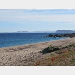 Strand am Campingplatz Baia Blu La Tortuga