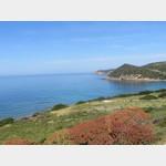 Küstenstrasse im Westen von Sardinien