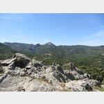 Berge des Monte Ferru