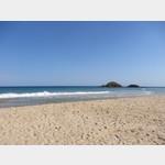 Strand an der Area Camper Su Giudeu
