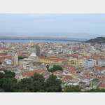 Blick auf Cagliari