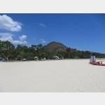 Campingplatz Tiliguerta direkt am weißen Sandstrand