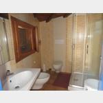 Badezimmer auf dem Campingplatz Telis