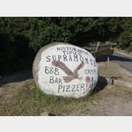 Hinweis zum Campingplatz Supramonte