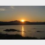 Sonnenuntergang in Santa Lucia