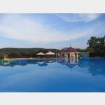Swimmingpool am Campingplatz Cugnana