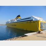 Fähre von Sardinia-Corsica-Ferries
