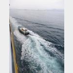 in Livorno kommt ein Lotze an Bord