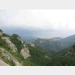 von Bibbiena aus in die Berge