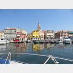 Blick auf Chioggia und den Dom