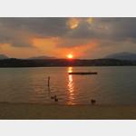Sonnenuntergang am Faaker See