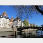 Strassburg mit Kirche St. Thomas
