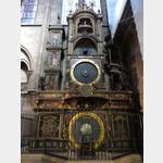 Astronomische Uhr in der Cathedrale Notre Dame in Strassburg