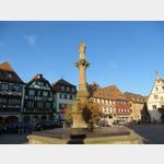 Marktplatz in Obernai