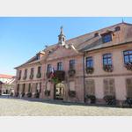 Rathaus in Bergheim im Elsass