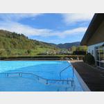 Schwimmbad auf dem Camping Münstertal