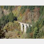 Viadukt der Höllentalbahn