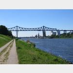 Eisenbahnbrücke in Rendsburg