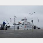 Fähtre von Havneby in Dänemark nach Sylt
