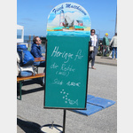 Hier kann man in Hörnum Fisch für Willi die Robbe kaufen