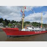 Feuerschiff Elbe 3 im  Museumshafen Oevelgönne