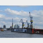Kräne im Hamburger Hafen