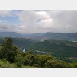 Blick auf Millau