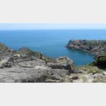 Aussicht auf das Meer vom Cap de Creus