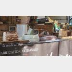 Nougat auf dem Markt in Vaison la Romaine