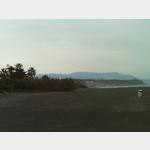 Strand hinter dem Parkplatz