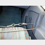 Sicherung der Fahrer und Beifahrertüre