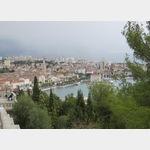 Blick auf Split vom Marjan Park