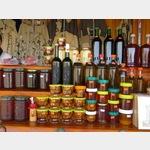 Straßenverkauf der schmackhaften Produkte