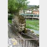 Wasserrad in L´Isle sur Sorgue