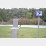 Toilettenentsorgung an den Rast und Tankanlagen des dänischen Autobahnnetzes