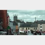 Kilkenny - Blick auf den Ort von ´The Parade´