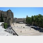 Avignon, Platz vor dem Palast der Päpste