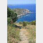 Küste zwischen Port-Vendres (F) und Llanca (E)
