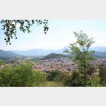 Blick über Olot, Spanien