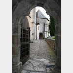 Kathedrale Sainte-Marie, Gang zw. Kreuzgang und Garten