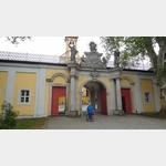 Eingang zur Klosteranlage Neuzelle