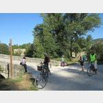 Radweg nach Pamplona